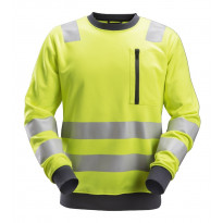 Fleecepusero Snickers Workwear AllroundWork 8037, LK 3, keltainen