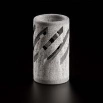 Jätkänkynttilä, 56x100mm, vuolukivi