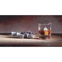Whiskyset-jääkivet, 20x20x20mm, vuolukivi, 10kpl/pkt