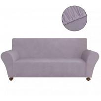 Harmaa venyvä sohvan suojapäällinen polyesteri