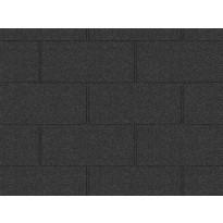 Kattohuopa Icopal Plano XL musta antrasiitti 2.3 m²/PAK