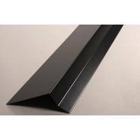 Sivuräystäspelti musta RR33 2 m