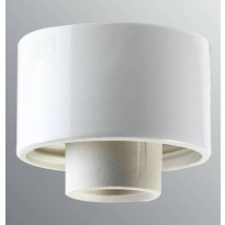 Lampunkanta Ifö Electric, suora, valkoinen, IP54