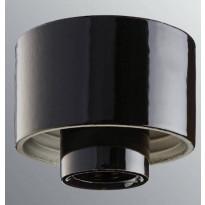 Lampunkanta Ifö Electric, suora, musta, IP54