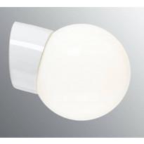 Seinävalaisin Ifö Electric Classic Glob, Ø150mm, opaalilasi, valkoinen, vino, IP20