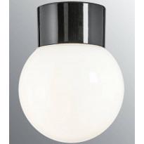 Kattovalaisin Ifö Electric Classic Glob, Ø150mm, opaalilasi, musta, suora, IP54