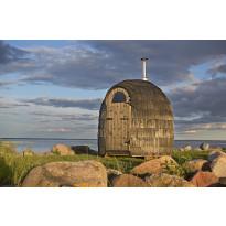 Sauna Iglusauna Single, 4,15 m², kuusi/haapa, puukiukaalla