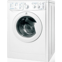 Edestä täytettävä pesukone IWSC 61253 C ECO EU, 1200rpm, 6kg