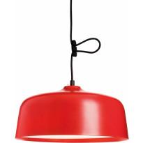 Kirkasvalolamppu/ riippuvalaisin Innolux Candeo, Ø 388x180mm, punainen, Verkkokaupan poistotuote
