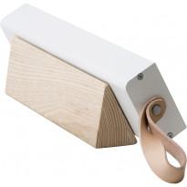 Kirkasvalolamppu/ työpöytävalaisin Innolux Valovoima Mini, 75x300mm, valkoinen/puu, Verkkokaupan poistotuote