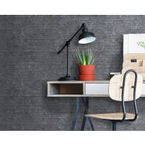 Sisustuslevy Innovera Décor Interlocking, Ledge Stone Dark Urban Cement, 8x610x610mm, PVC, harmaa
