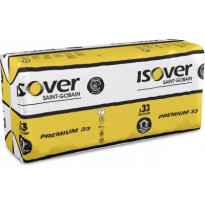 Lasivilla ISOVER Premium 33, 150x560x870mm, 2.44m²/pkt