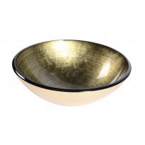 Lasiallas Interia Fianna, pöytätasolle, kullanhohtoinen, 420x420x140mm
