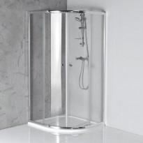 Suihkunurkka Interia Arleta, 900x900mm, kirkas lasi