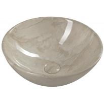 Malja-allas Interia Dalma, 420x165mm, beige, Verkkokaupan poistotuote