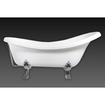 Kylpyamme Interia Odelle 170, 190 l, 1700 x 770 mm