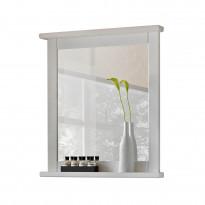 Peili Interia Romantic, 70x80x8 cm, valkoinen, Verkkokaupan poistotuote