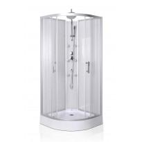 Hierova suihkukaappi Interia RSC-926, 85 x 85 x 200 cm, kirkas lasi