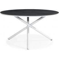 Ruokapöytä Alex, Ø140cm, 6-istuttava, harmaa