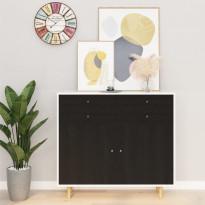 Itseliimautuvat huonekalukalvot 2 kpl tumma puu 500x90 cm