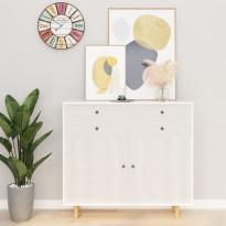 Itseliimautuvat huonekalukalvot 2 kpl valkea puu 500x90 cm