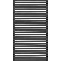Aitaelementti JABO Horizont 6, 159x79cm, musta