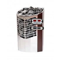 Sähkökiuas Titan 6,6kW (6-10 m³), erillinen ohjauskeskus, lämmin kupari