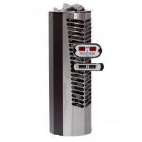 Sähkökiuas Titan 6,6kW (6-10 m³), erillinen ohjauskeskus, musta