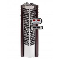 Sähkökiuas Triton 6,6kW (6-10 m³), erillinen ohjauskeskus, lämmin kupari koristelista
