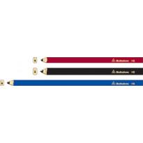 Kirvesmiehen kynä SNP18, HB, punainen