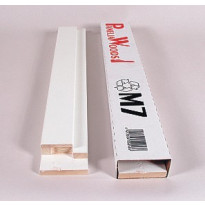 Karmi huulletulle ovelle 15x21 92mm valkoinen