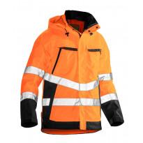 Sadetakki Jobman 1283, hi-vis, oranssi/musta