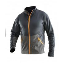 Takki Jobman 5162, flex, tummanharmaa/oranssi
