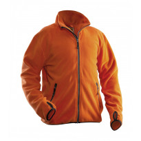 Fleecetakki Jobman 5501, oranssi