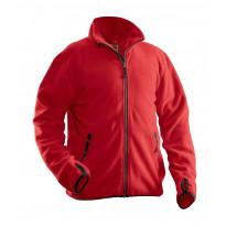 Fleecetakki Jobman 5501, punainen