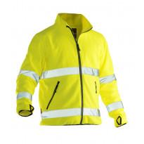 Fleecetakki Jobman 5502, hi-vis, keltainen