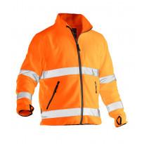 Fleecetakki Jobman 5502, hi-vis, oranssi