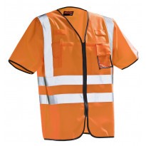 Huomioliivi Jobman 7598, hi-vis, oranssi