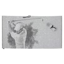 Rullapyyhe Jokipiin Pellava Swing, 80x145cm, valkoinen/musta
