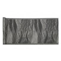 Laudeliina Jokipiin Pellava Virta, 45x160cm, valkoinen/musta