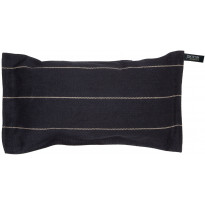 Saunatyyny Liituraita, 22x40 cm, musta