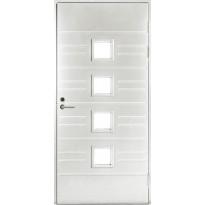 Ulko-ovi Jeld-Wen Function F1896 W84, 10x21, valkoinen kuviolasi