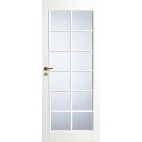 Väliovi Swedoor Style 20, 9-10x21, valkoinen, kirkas lasi