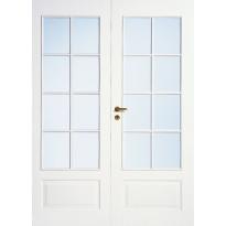 Pariovi lasitettu Jeld-Wen Style 42, valkoinen, kirkas lasi