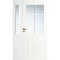 Levike avattava lasitettu 3R Swedoor Style 2, valkoinen