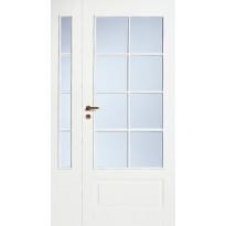 Levike avattava lasitettu 4R Swedoor Style 42, valkoinen