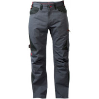 Työhousut  Würth Worker Basic, harmaa/musta