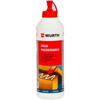 PUR-liima läpikuultava, 500 g, 12kpl