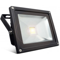 LED-valonheitin Bright Solar, IP65, 10W, 6000K, 750lm