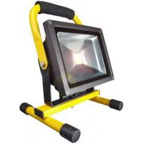 LED-valonheitin telineellä Bright Solar, IP65, 20W, 6000K, 1500lm
